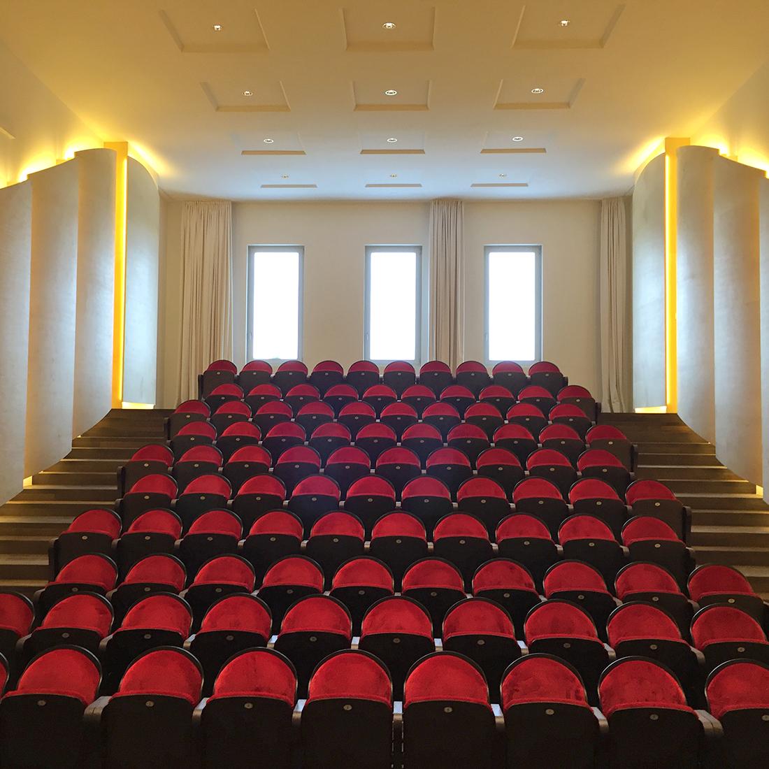 Projekt: Kulturzentrum La Prairie Bellmund - Konzertsaal