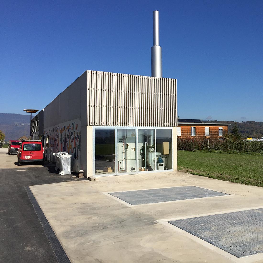 Projekt: Arealsanierung Tannenhof - Heizzentrale